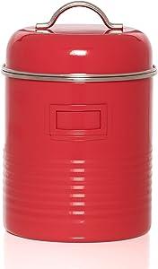 Kamenstein Food Storage Canister, Medium, Red