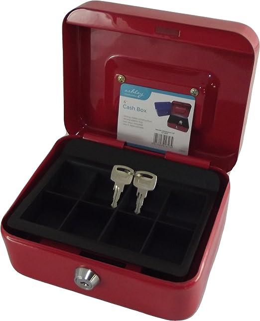 Caja Fuerte Mini (15cm) - Para guardar dinero - 2 llaves incluidas ...