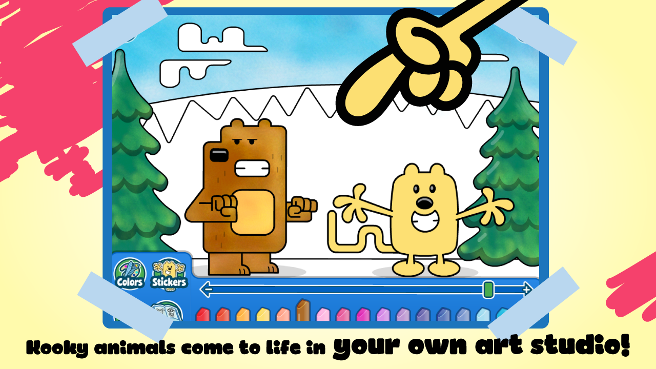 Amazon Wubbzys Animal Coloring Book Appstore For Android