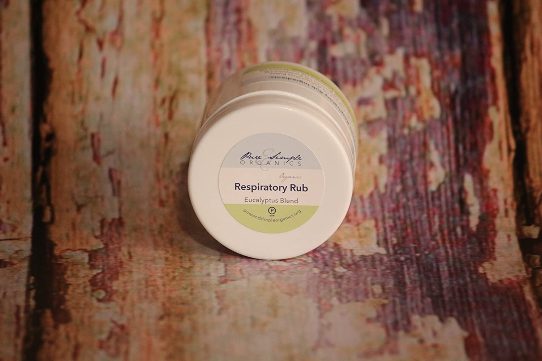 Organic Respiratory Rub