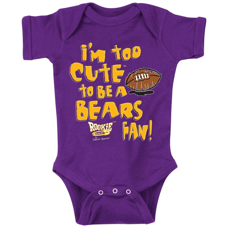12M Minnesota Football Fans Im Too Cute Onesie NB-18M