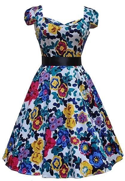 Love Camden - Vestido - Campana - para mujer multicolor multicolor 36