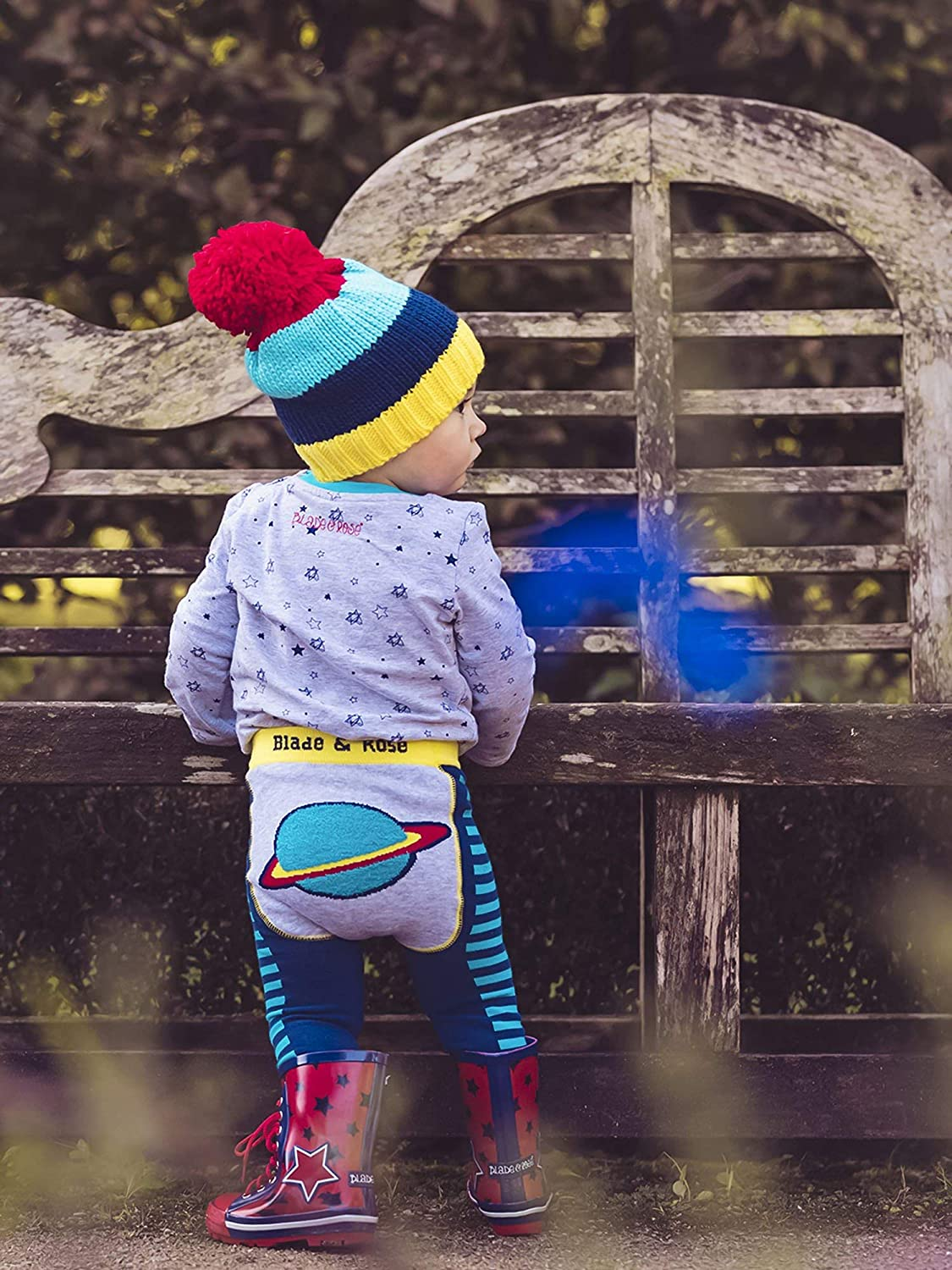 Blade /& Rose Outer Space Kids Leggings 1-2 Years