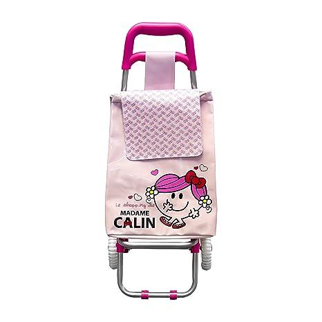 Monsieur Madame MM3007/JC Madame Câlin - Carrito de la compra infantil, plástico (