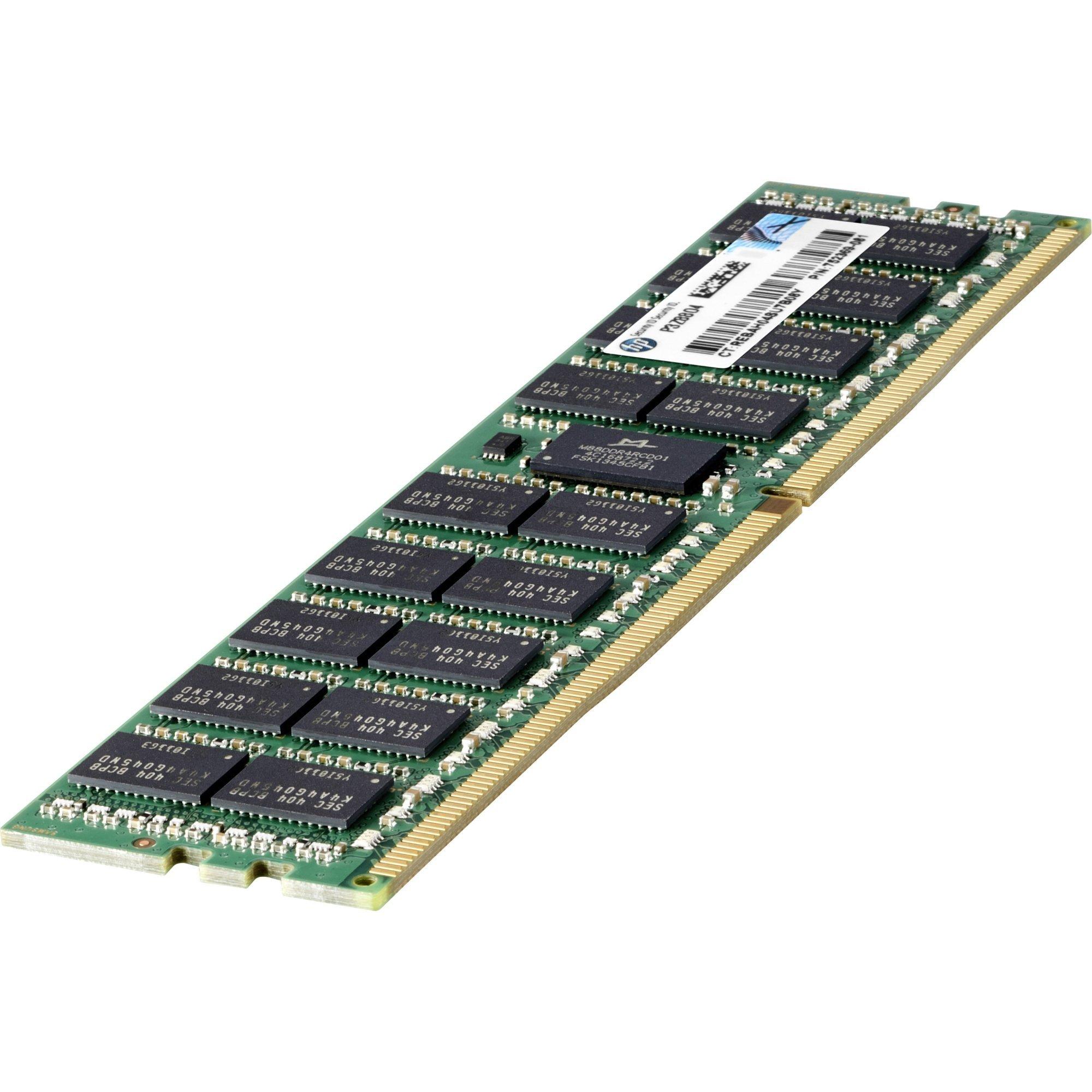726718-B21 HP 8GB (1x8GB) Single Rank x4 DDR4-2133 CAS-15-15-15 Registered Mem (Certified Refurbished)