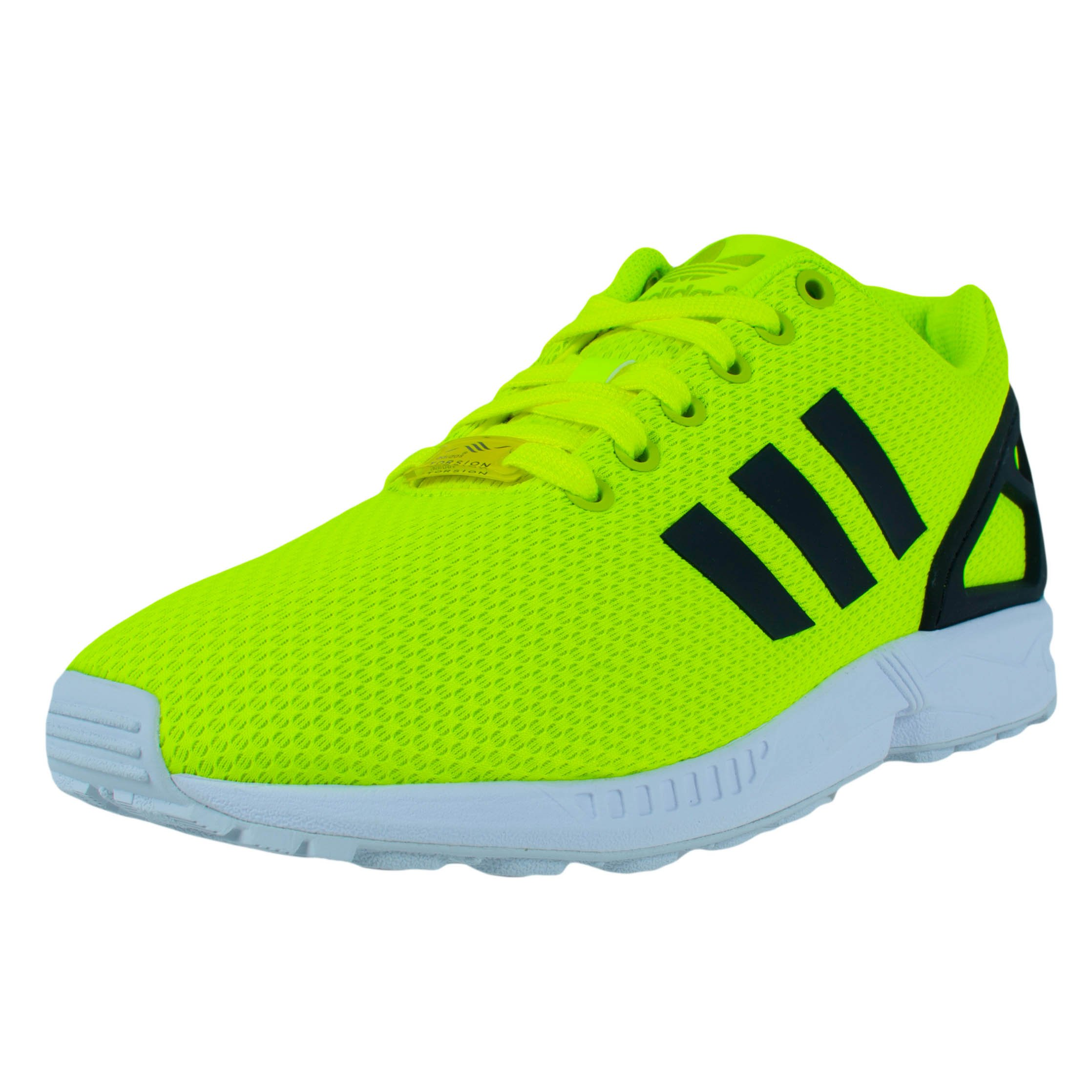 new style 4d8eb fe278 ... new arrivals galleon adidas zx flux running shoes electric green  electric green white m22508 51644 587e3 ...