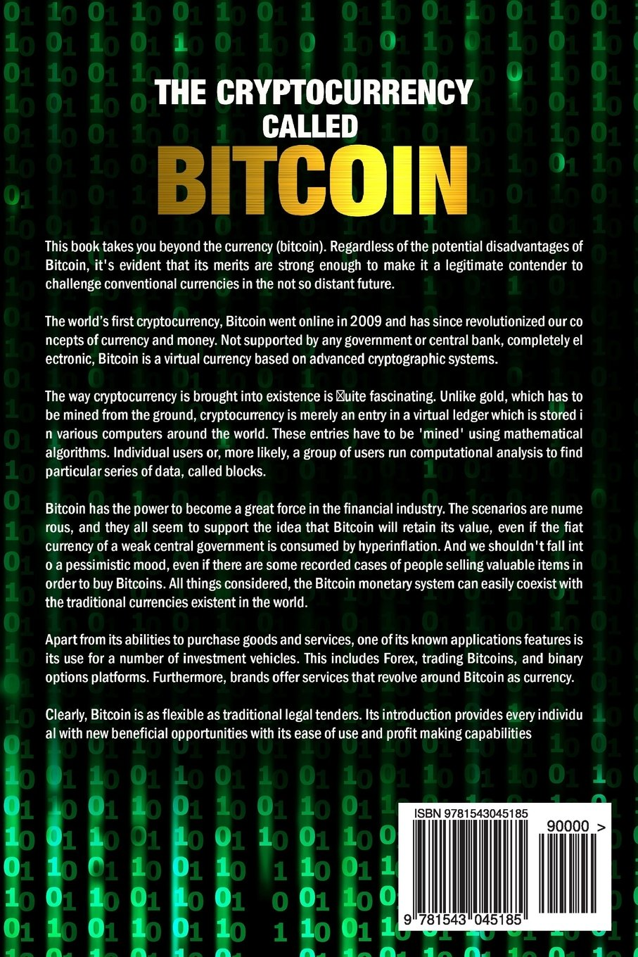 The Cryptocurrency Called Bitcoin : 2017 Beginner's Guide To Bitcoin: Lee  Maxwell: 9781543045185: Amazon: Books