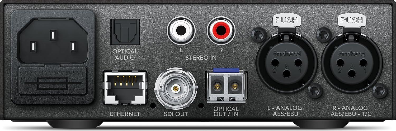 Blackmagic Design Teranex Mini Audio to Optical SFP Optical Module not included CONVNTRM//OB//AUOPT