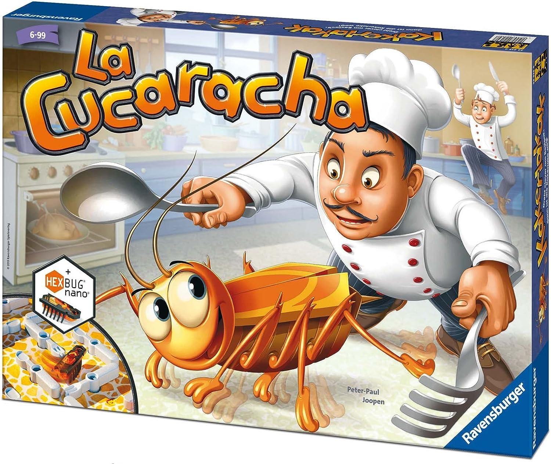 Ravensburger La Cucaracha, Juego de mesa, 2-4 jugadores, Edad recomendada 6+ (22228): Amazon.es: Juguetes y juegos