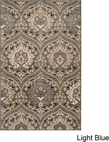 Augusta Area Rug, 8 x 10 , Light Blue