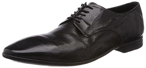 Preventi PRV00001092 - Botas Mocasines de Cuero Hombre, Color Negro, Talla 43.5 EU: Amazon.es: Zapatos y complementos