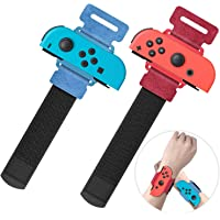 Upgraded Wrist Bands for Just Dance 2021 2020 Nintendo Switch, YUANHOT Adjustable Elastic Dance Straps for Switch Joy…