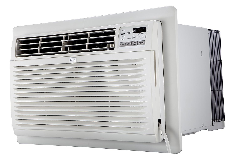 LG LT0816CER 8,000 BTU Through-The- Through-The-Wall Air Conditioner, White