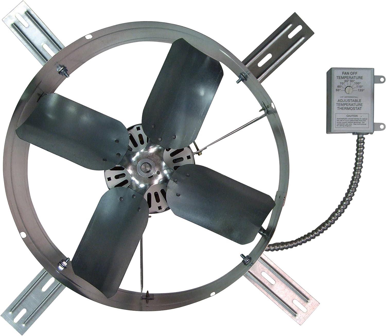 TPI Gable-Mount Exhaust Fan - 1300 CFM, Model Number GV-405-2B