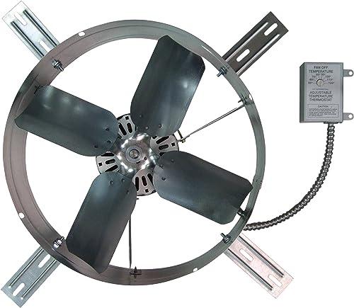 TPI Gable-Mount Exhaust Fan – 1300 CFM, Model Number GV-405-2B