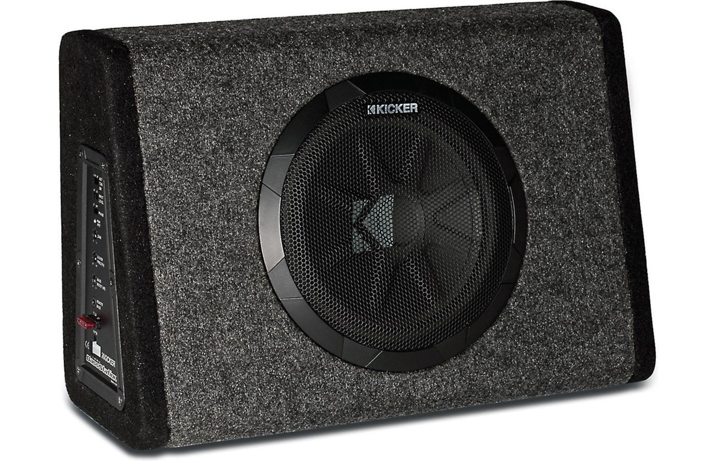 "Amazon.com: Kicker 11PT10CA Powered 10"" Truck Sub Box 90W Amp (Certified  Refurbished): Car Electronics"