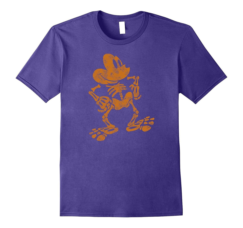 Disney Mickey Mouse Halloween Skeleton T Shirt-TJ