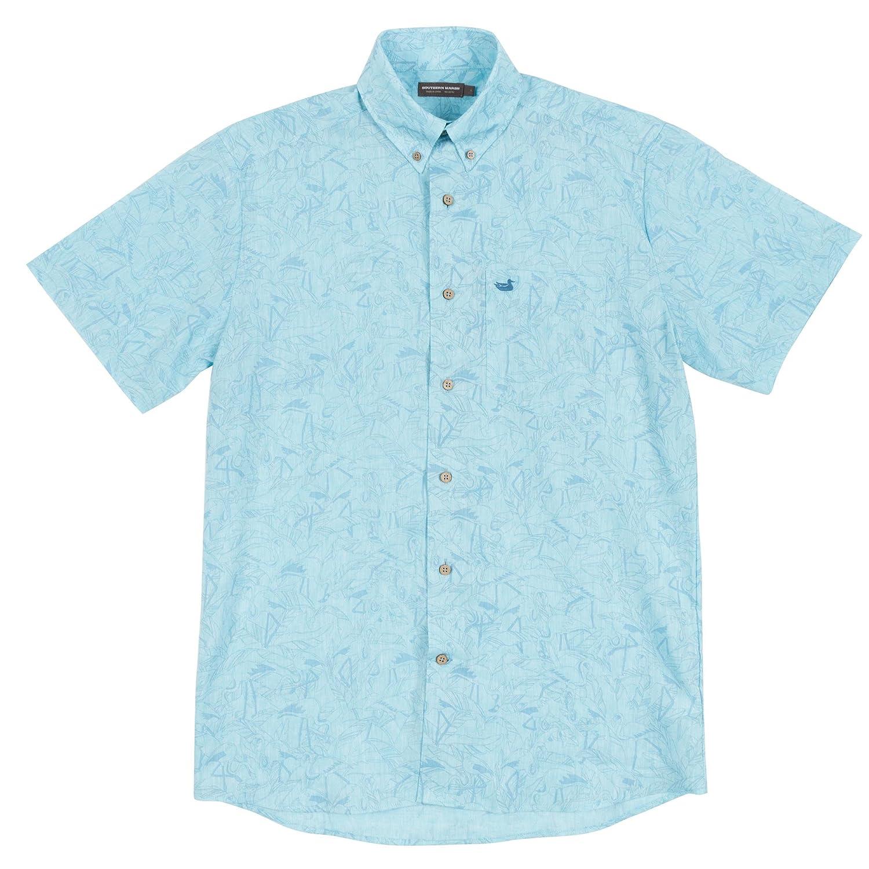 Flamingos Island Linen Shirt