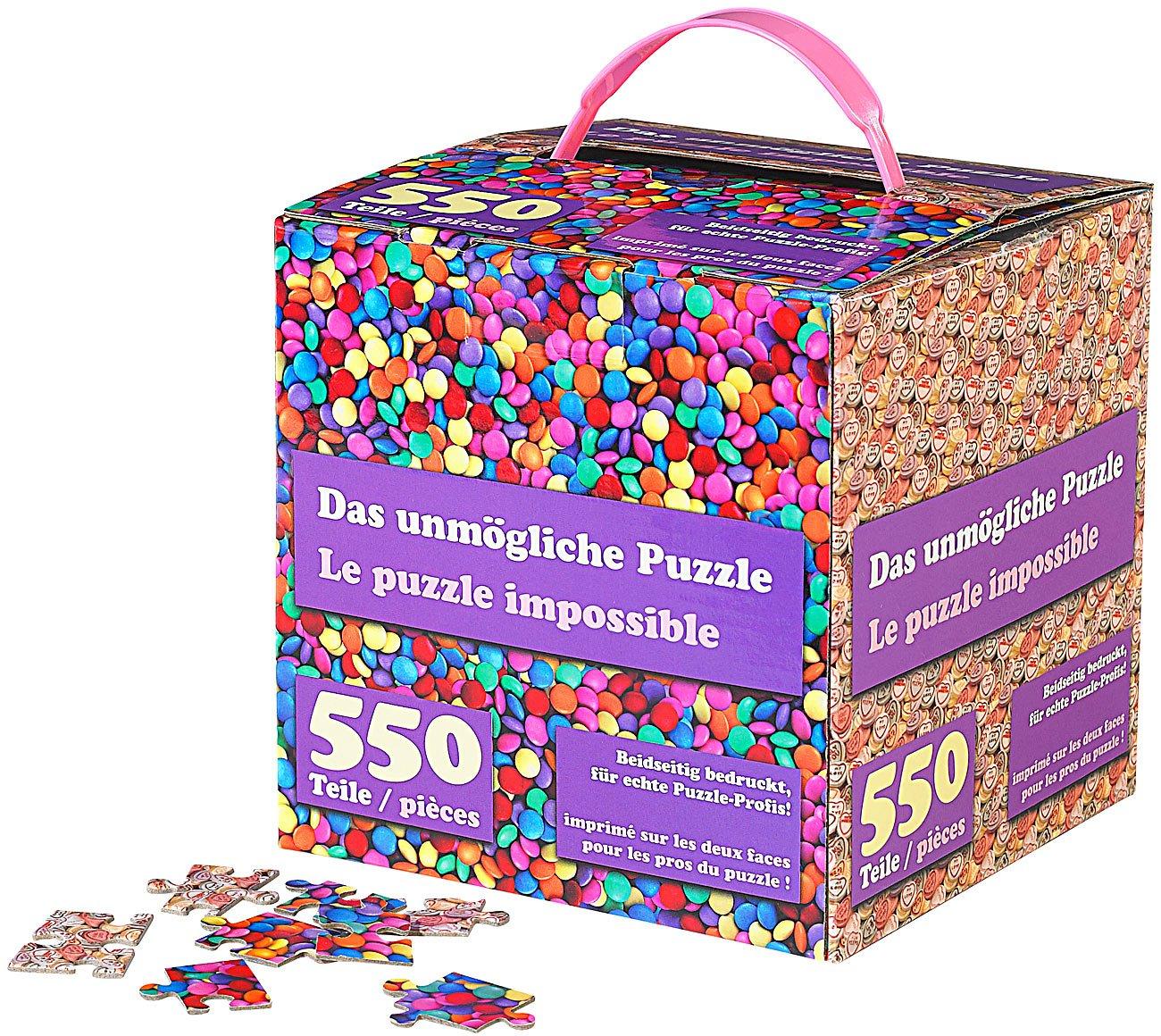 Teile Profis infactory spiele das unmögliche puzzle beidseitig bedruckt für