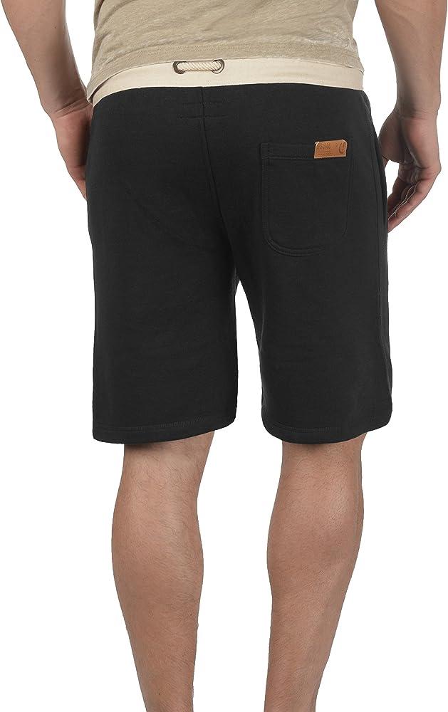Solid TripShorts Pantalón Corto Chándal Sweat- Bermudas para ...