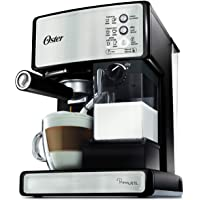Oster Prima Latte Espresso, Cappuccino and Latte Maker, Stainless Steel BVSTEM6601SS-033