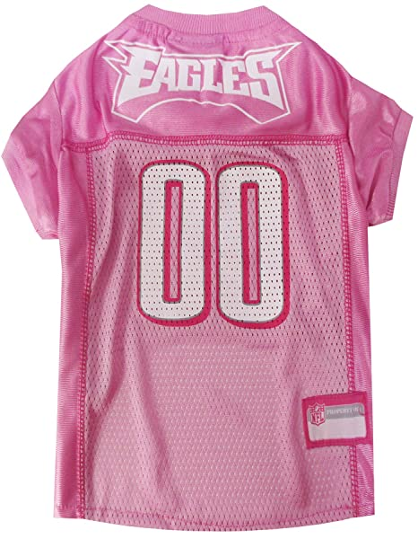 97a1e32e0 Amazon.com   NFL Philadelphia Eagles Dog Jersey Pink