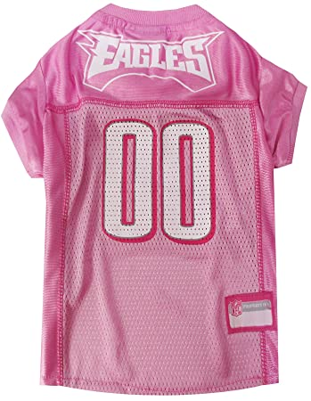 best loved d756b 4b31e NFL PINK PET APPAREL. JERSEYS & T-SHIRTS for DOGS & CATS available in 32  NFL TEAMS & 4 sizes. Licensed, TOP QUALITY & Cute pet clothing for all NFL  ...