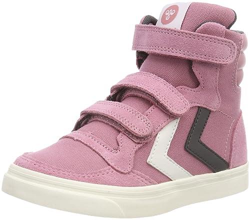 super popular dacb9 65570 hummel Unisex-Kinder Stadil Canvas Duo High Jr Hohe Sneaker