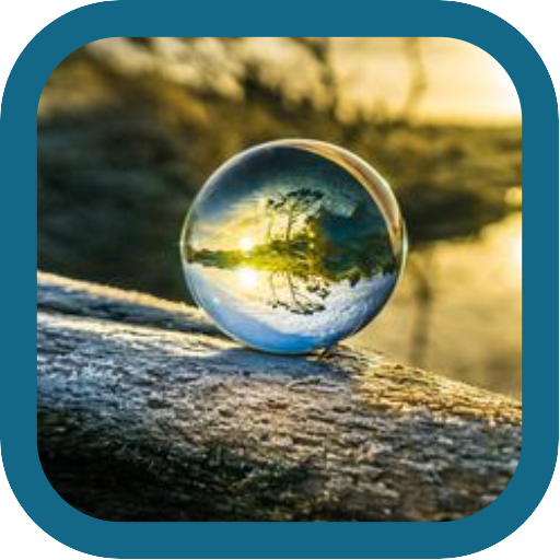 Beautiful Crystal Ball -