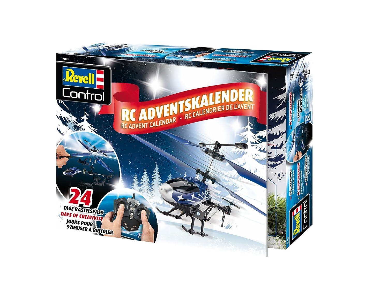 Revell Control Adventskalender Helikopter RC Einsteiger Hubschrauber Bausatz