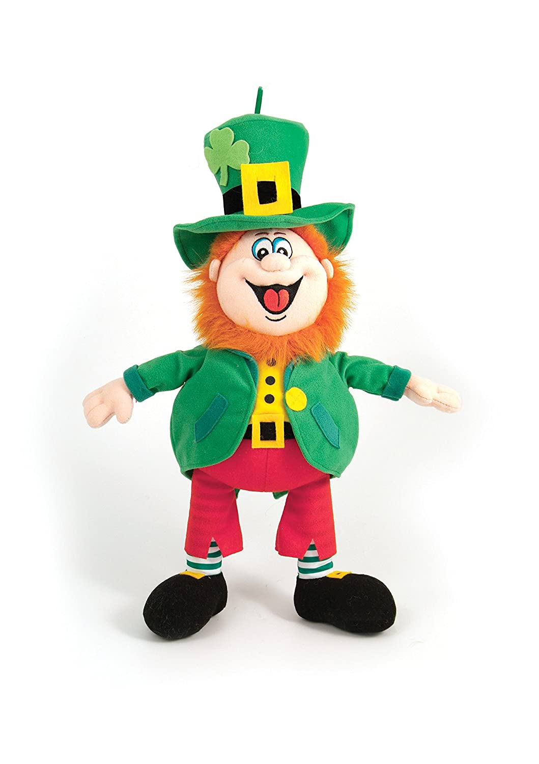 "10"" Finnegan the Irish Leprechaun Soft Toy"