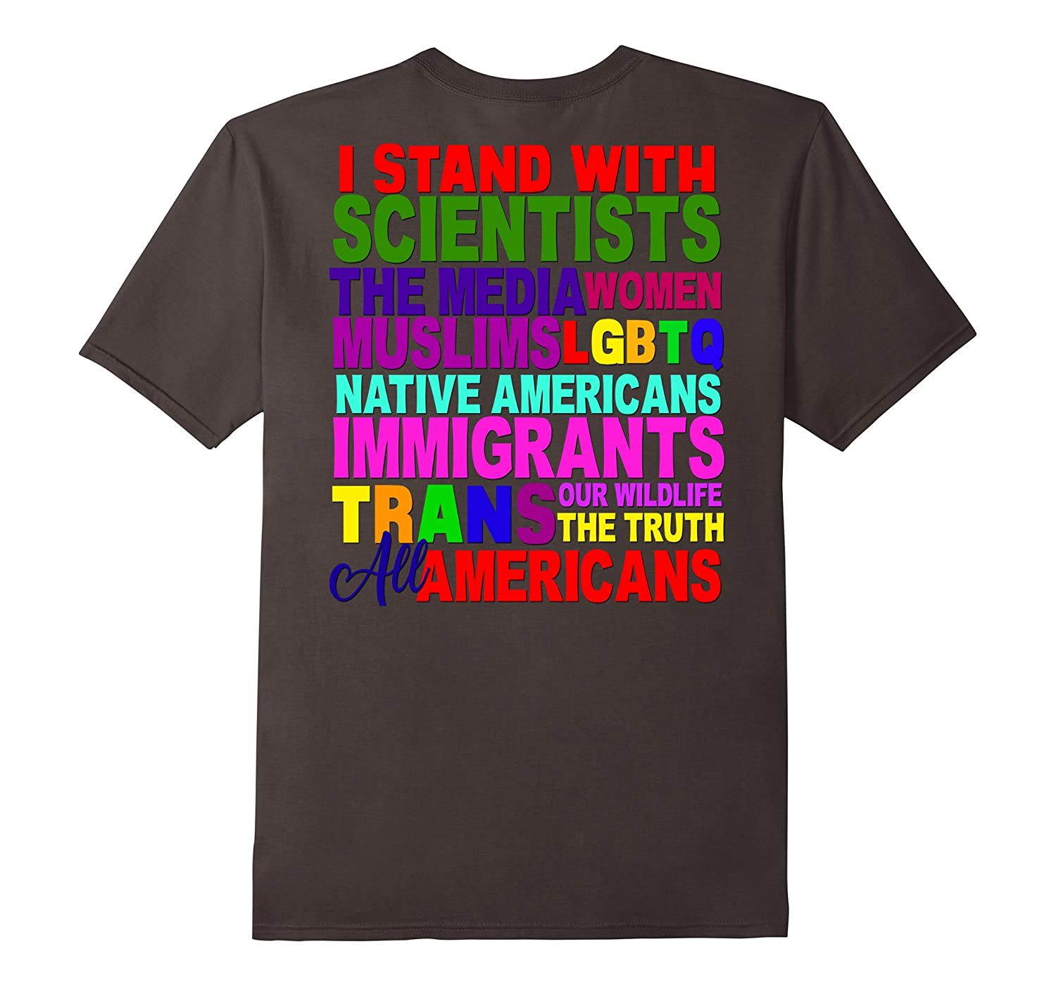 I Stand With Shirt Persist Resist Protest March America USA-RT