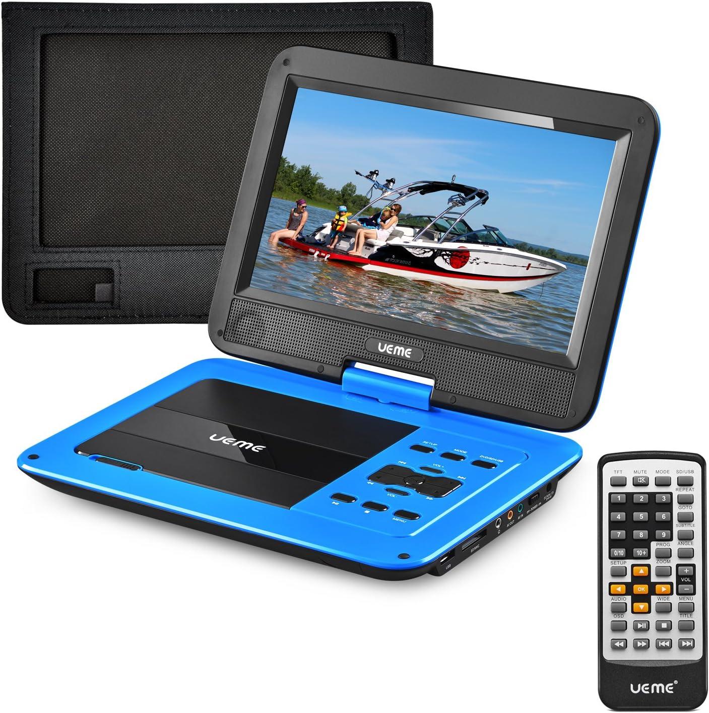 Amazon.com: UEME - Reproductor de DVD portátil con pantalla ...