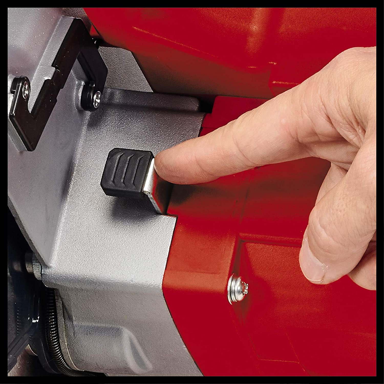 Sierra de inglete con tope color rojo y negro Einhell 4300380 TC-SM 216