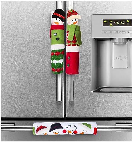 acerich Navidad aparato de cocina cubre muñeco de nieve ...