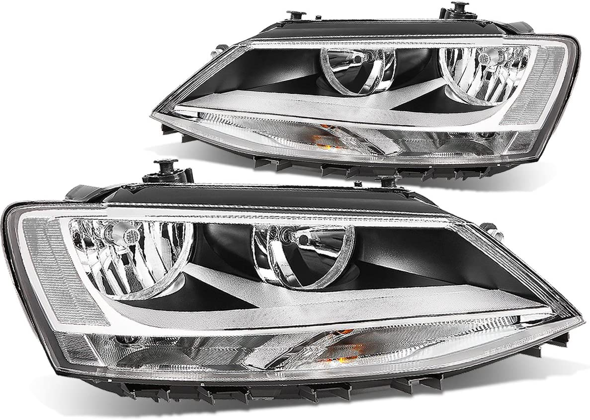 Driver side WITH install kit LED 2006 Ford FUSION WO AIR CURTAINS Post mount spotlight 6 inch -Chrome