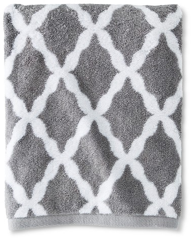 Threshold Brights Bath Towel Cloak Gray Accent : Target