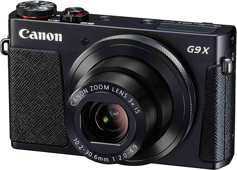 Canon PowerShot G9 X Mark II - Cámara compacta de 20.9 MP (Pantalla táctil de 3