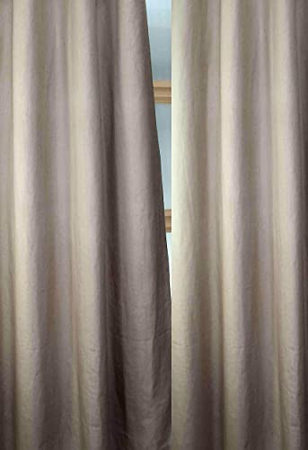Deveson 100 Linen Panels/Curtains/Drape