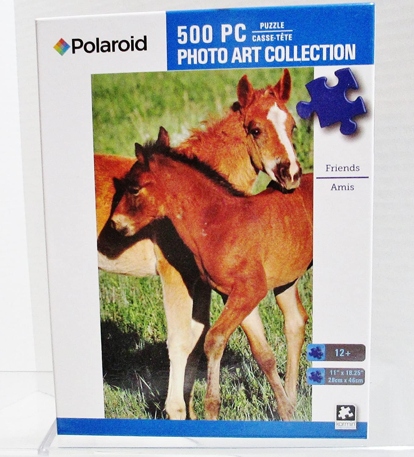 2 Polaroid Art Collection 500 Piece Jigsaw Puzzles Pony Friends Balloons Rising Karmin International