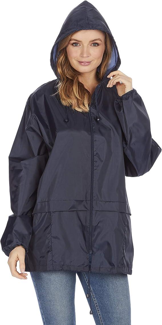abrigo de lluvia sin forro impermeable sin dibujos Chaqueta unisex con capucha para adultos