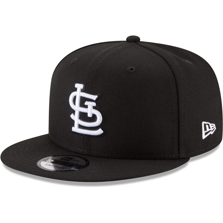 New Era 9Fifty Hat St Louis Cardinals Basic Black Snapback Adjustable Cap