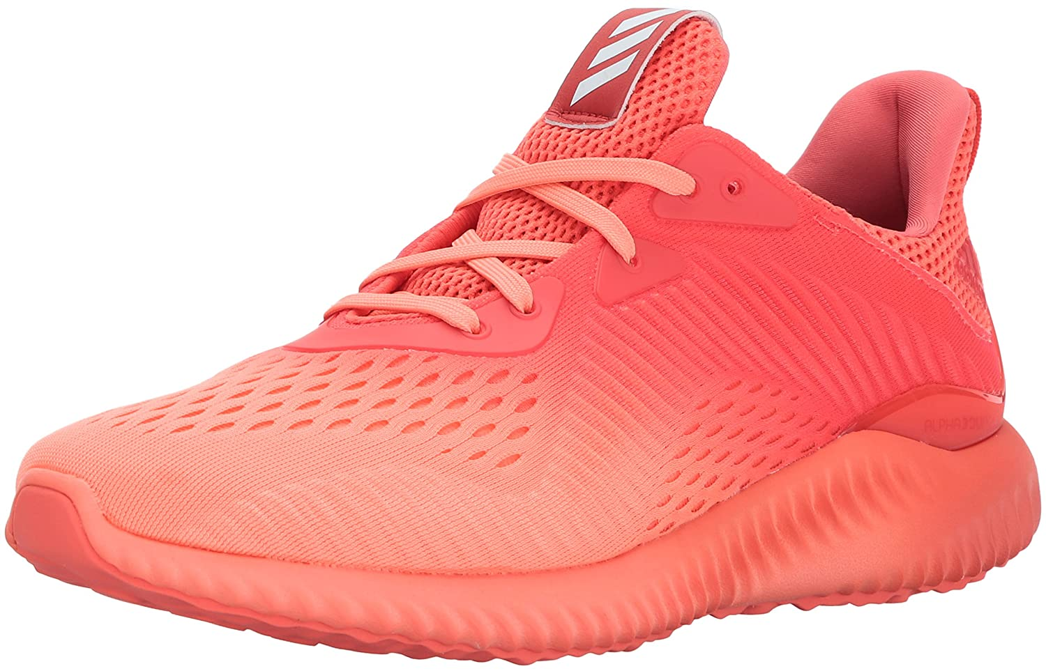 adidas Women's Alphabounce Em W Running Shoe B01MSQH9VY 9 B(M) US|Easy Coral/Sun Glow/Grey One