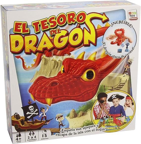 IMC Toys 43-9509 - Juego El Tesoro del Dragón: Amazon.es: Juguetes y juegos