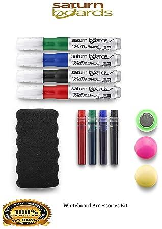 Pizarra blanca Kit de accesorios incluye magnético azul de ...