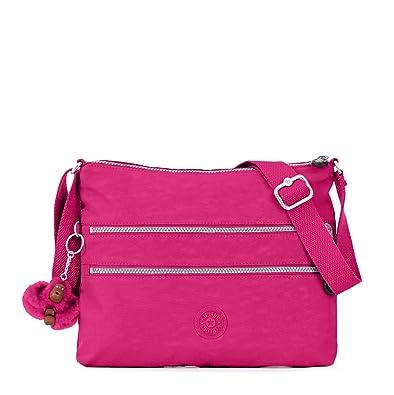 Amazon.com  Kipling Luggage Alvar Crossbody Bag, Very Berry  The ... 748979e7e2