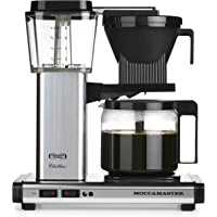 Technivorm Moccamaster KBG 10-Cup Automatic Drip Stop Coffee Brewer (Polished Silver)