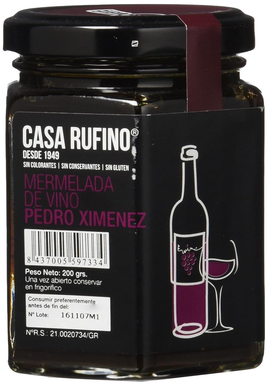 Rufino Mermelada de Vino Pedro Ximénez - 200 gr: Amazon.es: Alimentación y bebidas