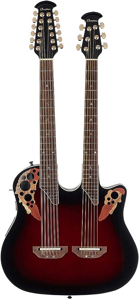 Elite CSE225-RRB Double Neck: Amazon.es: Instrumentos musicales