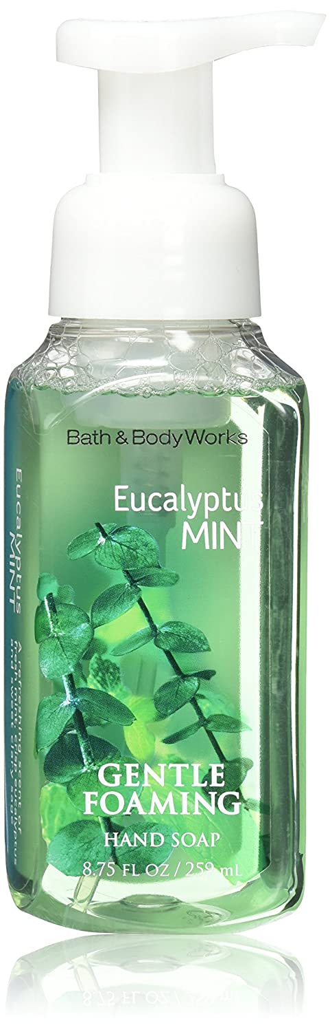 Bath & Body Works Eucalyptus Mint Gentle Foaming Hand Soap New Packaging by Bath & Body Works